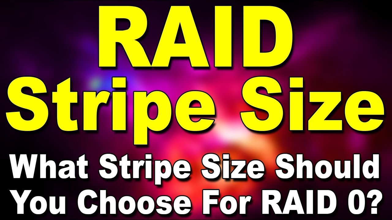 What is RAID Stripe Size & Chunk Size? (Hindi) | Kshitij Kumar