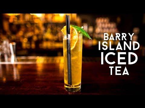 BARRY ISLAND ICED TEA (TÊ OER YNYS Y BARRI?)