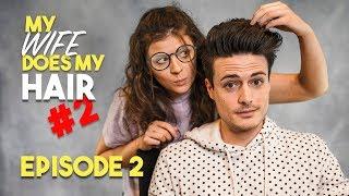 My SAUCY Wife Styles My Hair | Episode 2 | NSFW | BluMaan 2018