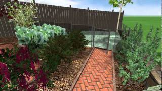 Raised Railway Sleeper Vegetable Garden - Pmn Landscape Designs Ltd