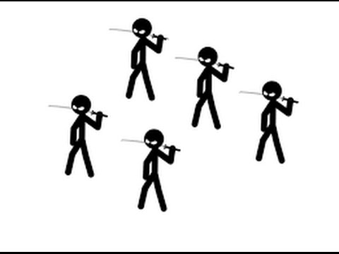how to make a stick fight animation