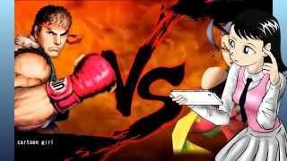 STREET FIGHTER BATTLE COMBINATION!!! Let's fight chun-li !!