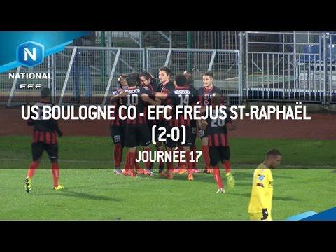 J17 : US Boulogne CO – EFC Fréjus Saint-Raphaël (2-0), le résumé