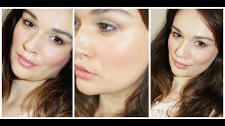 Easy Natural Makeup Tutorial - No Brushes Required Thumbnail