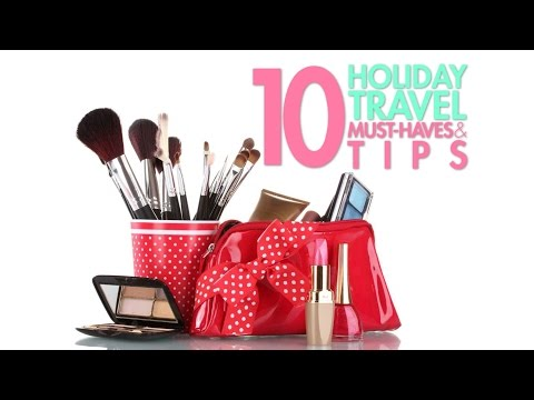 Holiday Travel Tips and Must-haves