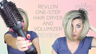 REVLON VOLUMIZING HAIR DRYER 🌟 One-Step Volumizer Hair Dryer (Salon Pro Collection)
