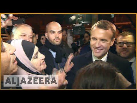 Macron visits Paris' notorious Clichy-sous-Bois