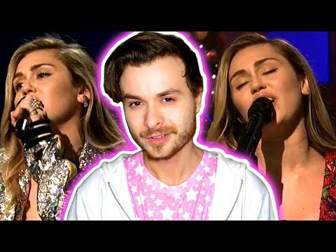 Miley Cyrus and Mark Ronson - Nothing Breaks Like A Heart & War Is Over (Live) - SNL [REACTION]