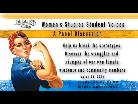 2015 Student Voices - Women's Studies Panel