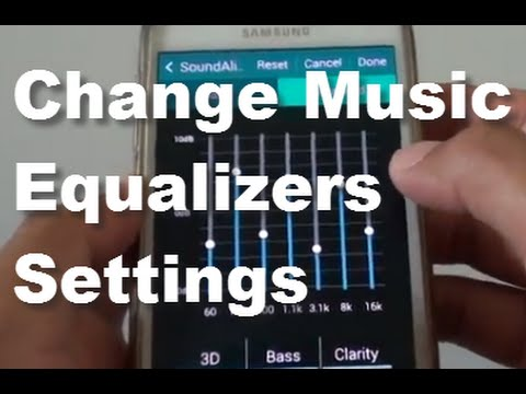 Samsung Galaxy S5: How to Manually Change Music Equalizers