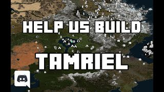 Help us build Tamriel in Minecraft! | JOIN NOW!