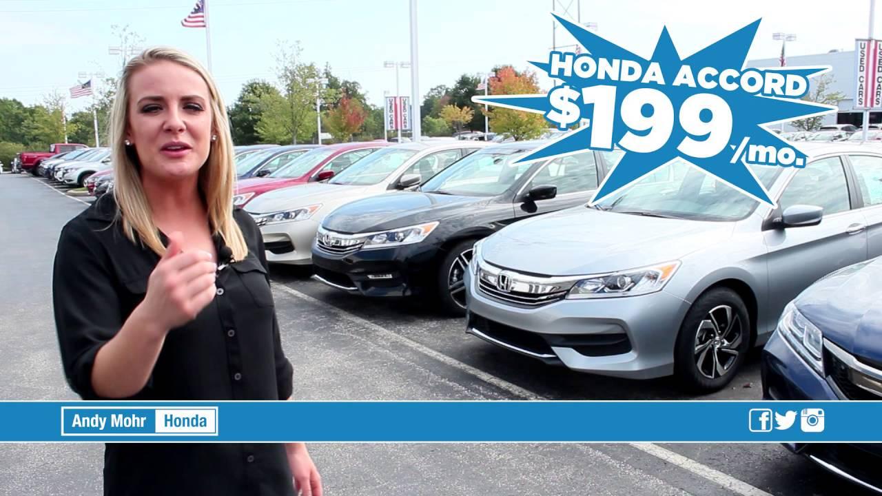 Honda Accord | Sign U0026 Drive | $199/month | Andy Mohr Honda | Bloomington,  Indiana