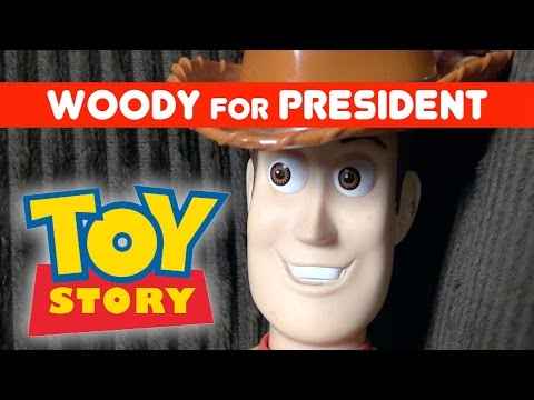 Toy Story 4: Woody President Campaign 2016 Commercial   Bon Jovi Parody Song (Wanted Dead or Alive)