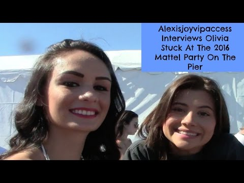 Olivia Stuck  With Alexisjoyvipaccess At The 2016 Mattel Party On The Pier