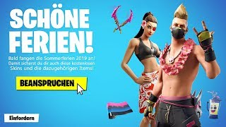 New free SUMMER SKINS in Fortnite!