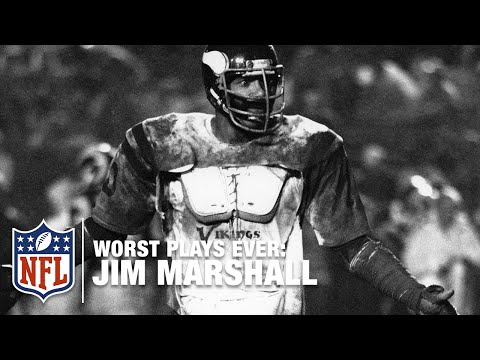 Jim Marshall Forgot to Get Directions! | NFL