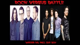 Rock Versus Battle - Weezer vs.Fall Out Boy