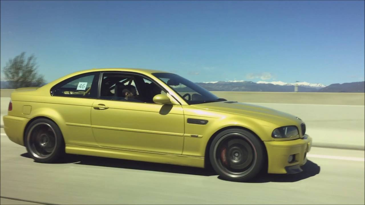 Bmw M3 E46 Phoenix Yellow Youtube
