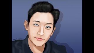 [speed painting] Lee soo hyuk model (ver slow)