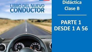 Cuestionario CONASET Libro del Nuevo Conductor Clase B Parte 1