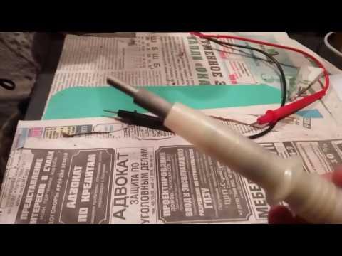 Щуп высоковольтный для осциллографа своими руками