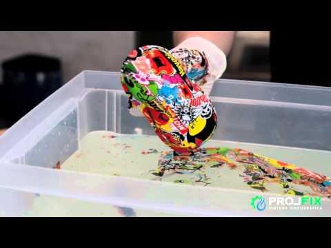 Como fazer Water Transfer Printing (WTP) - Formatos de Trabalho