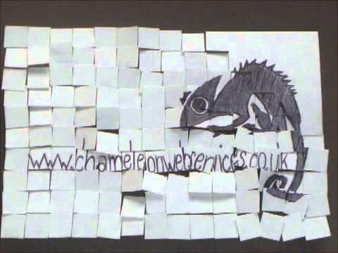 Chameleon Web Services Paper Design