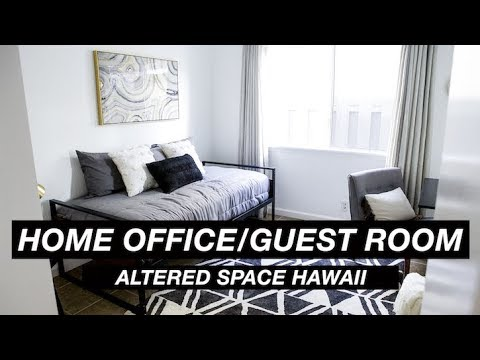 Home Office/Guest Room Transformation - Altered Space Hawaii