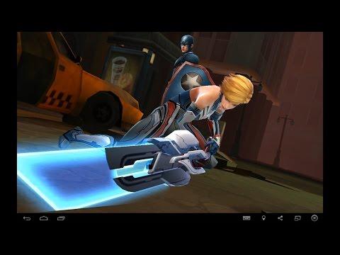 [Marvel Future Fight] Sharon Rogers (Starlight Armor)