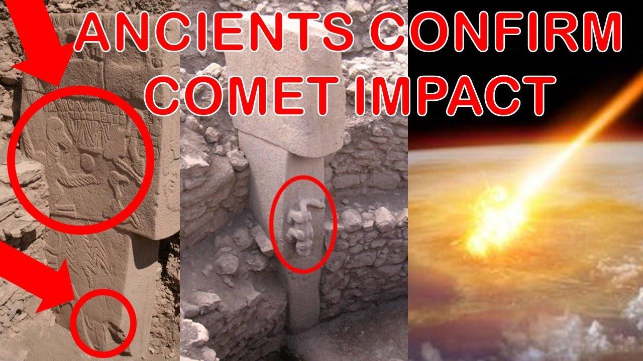 Gobekli tepe stone carvings indicate comet impacted earth