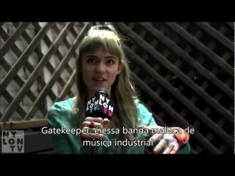 Grimes para o Band Crush