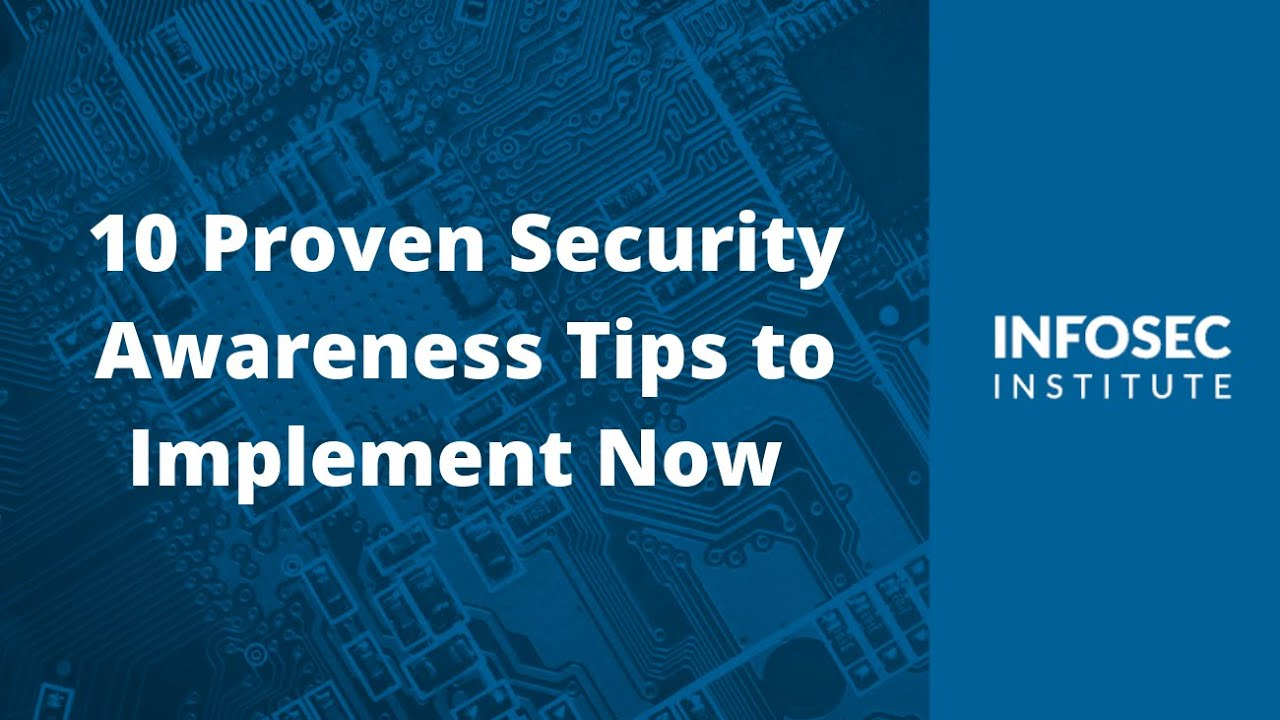 Top 10 Security Awareness Training Topics for Your Employees