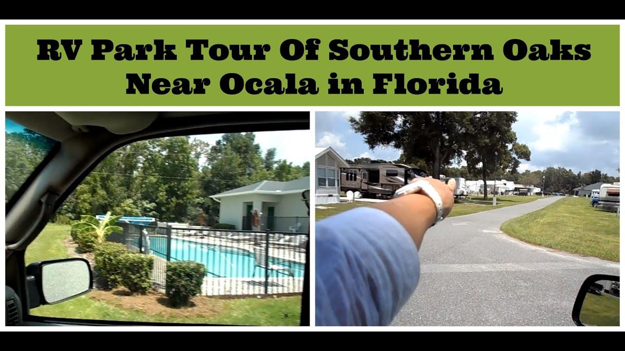 Rv Park Tour Southern Oaks Rv Resort Near Ocala Florida