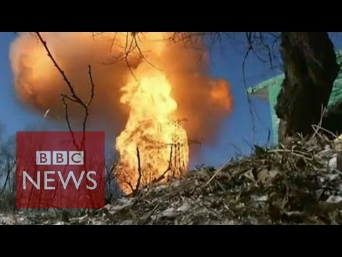Ukraine: Fighting continues despite truce