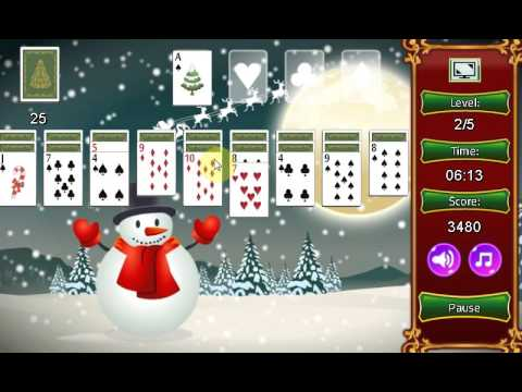 Christmas Solitaire.Game Christmas Solitaire