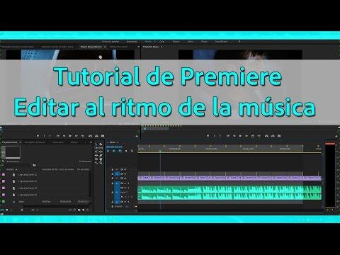 Tutorial Adobe Premiere - Editar al ritmo de la música - Sincronizar cortes