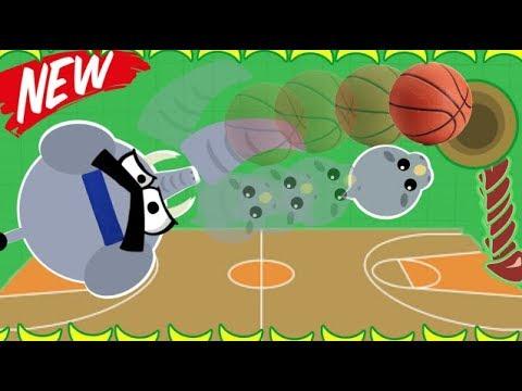 MOPE.IO NEW ELEPHANT BASKETBALL TROLLING! DOUBLE BLACK DRAGON+ ANIMAL TAIL BITES (Mope.io Gameplay)