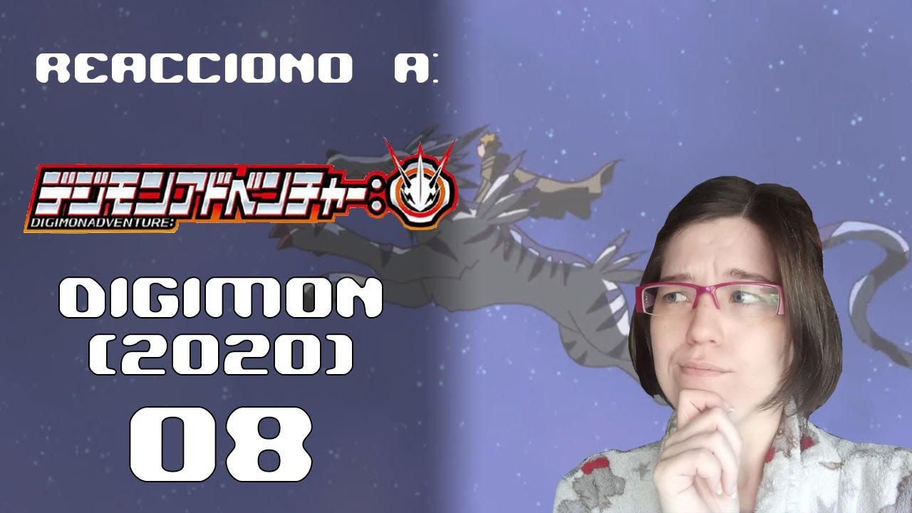 MATT IS BACK! || Reacciono a... Digimon 2020 EP08