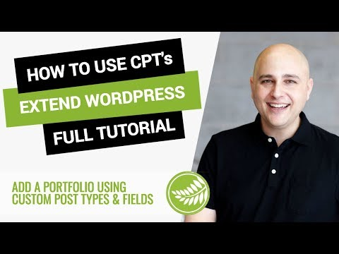 How To Extend WordPress With Custom Post Types & Custom Fields Using PODS