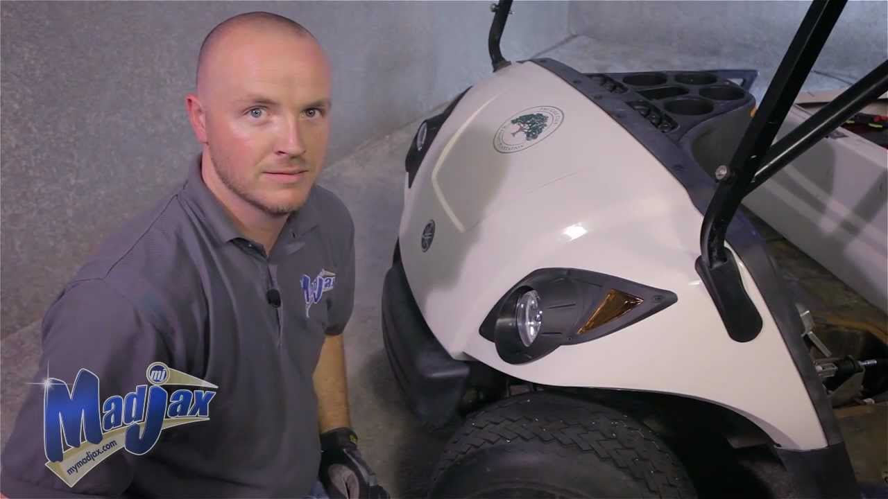 Light Kit for Yamaha® Drive® | How to Install Video | Madjax® Golf on
