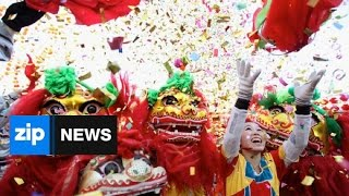 Video Celebrations Usher In Chinese New Year - Feb 20, 2015 download MP3, 3GP, MP4, WEBM, AVI, FLV Februari 2018