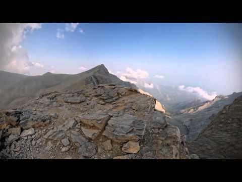 Вид на гору Олимп с развалин ДИОНА