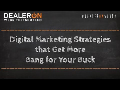 Digital Marketing Strategies that Get More Bang for Your Buck