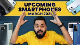 Top 10+ Best Upcoming Mobile Phone Launches ⚡ March 2021