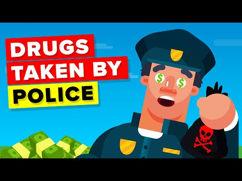 This Happens to Drugs Confiscated by Police