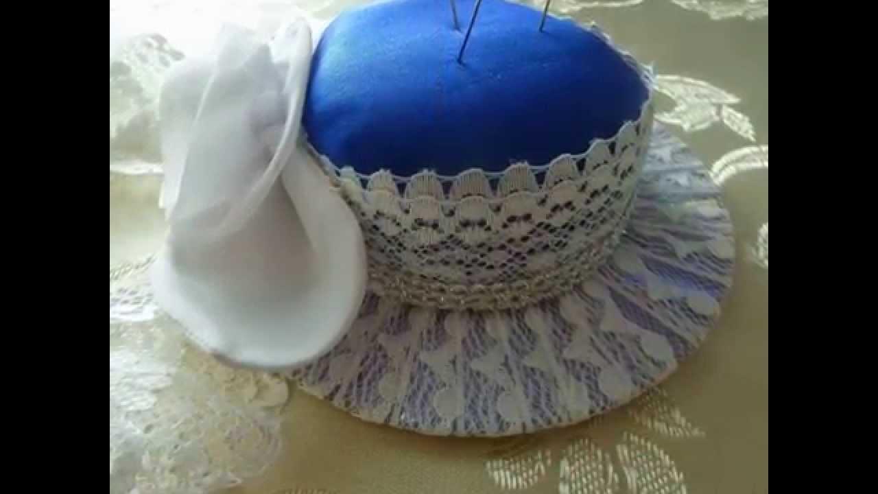 Как сшить игольницу шляпку на руку фото 176