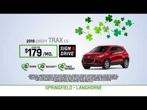 Reedman Toll Auto Group Chevrolet March 2019 Lease Specials