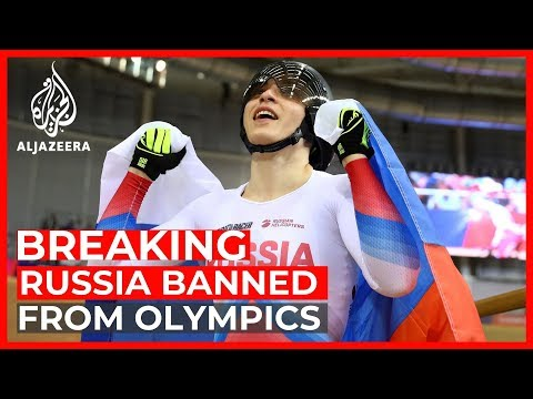 Russia faces 4-year ban from Olympics