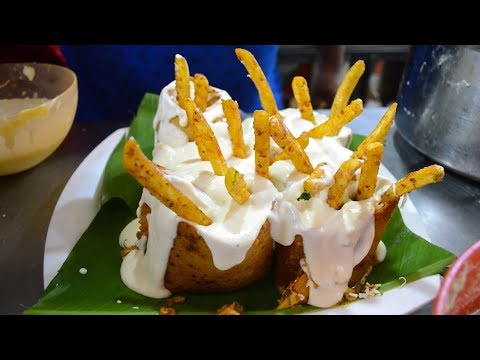 MELTING CHEESE FRENCH FRIES Dosa | Cheese Burst Dosa | Indian Street Food