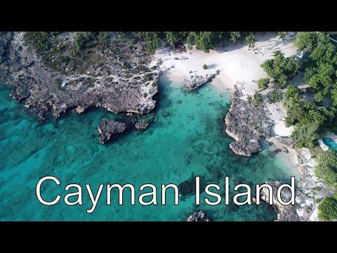 CAYMAN ISLAND IN 4K DRONE  UNDER WATER DREAM